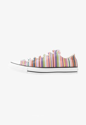CHUCK TAYLOR ALL STAR - Sneakersy niskie - white/multicolor/black