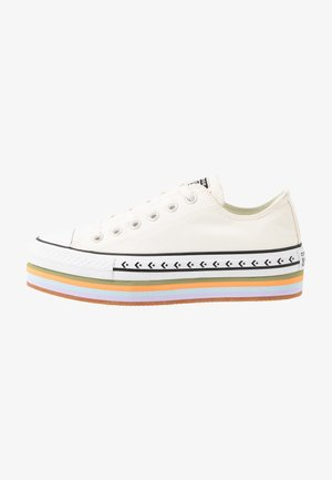 CHUCK TAYLOR ALL STAR PLATFORM LAYER - Sneakers basse - egret/total orange