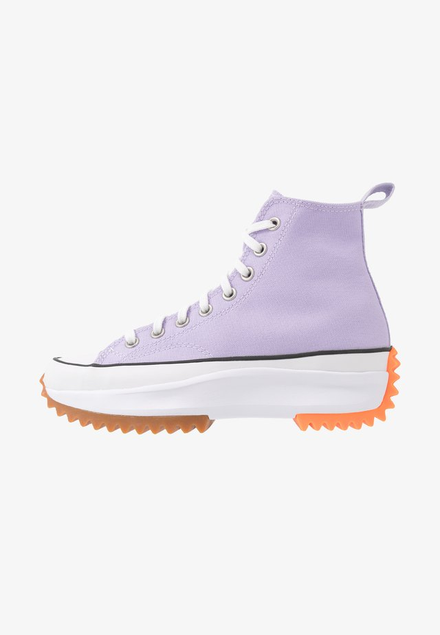 RUN STAR HIKE - High-top trainers - moonstone violet/white/total orange