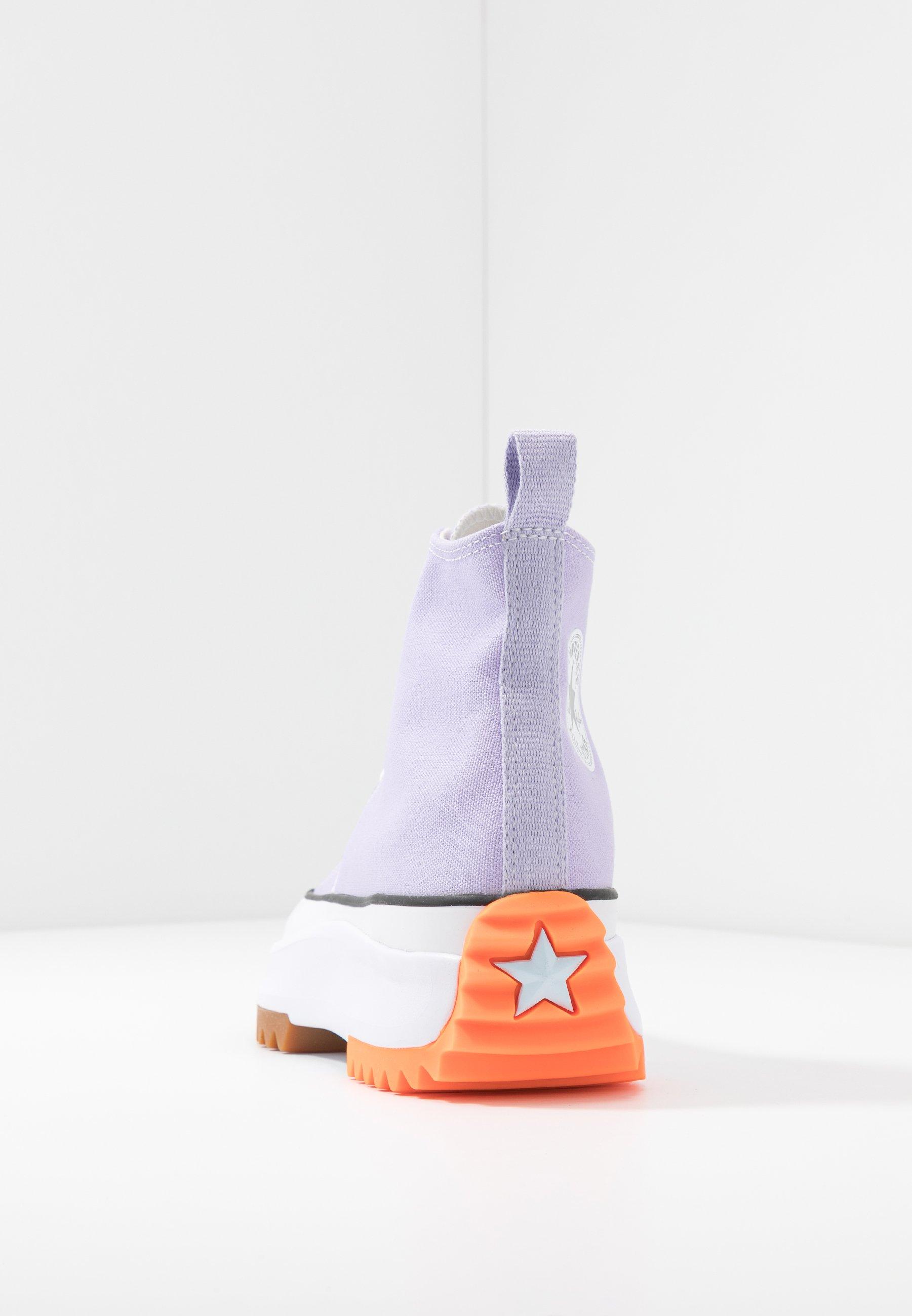 RUN STAR HIKE Sneaker high total orangewhiteagate blue
