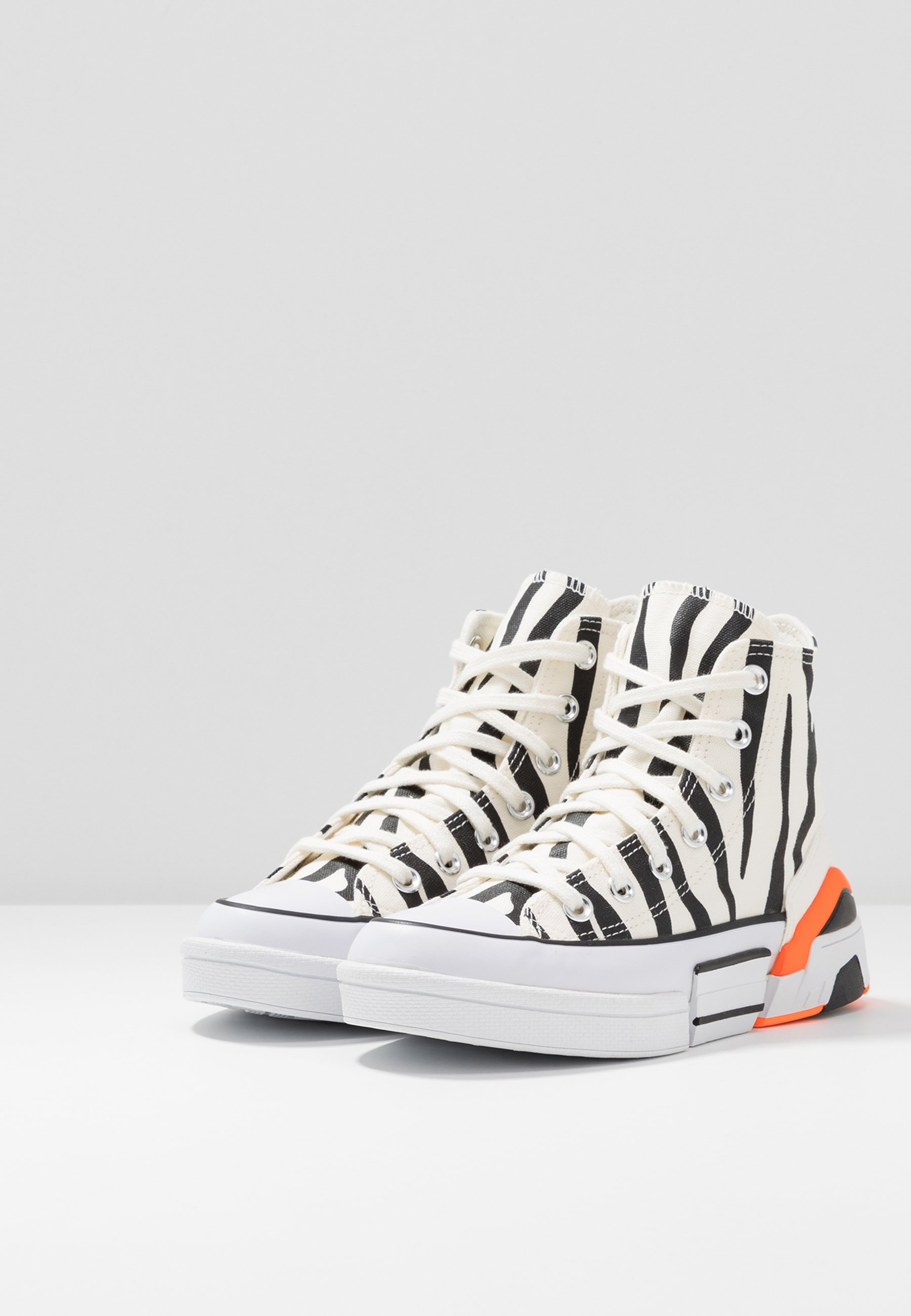 Converse Cpx70 - Sneakers Hoog Egret/black/total Orange Goedkope Schoenen
