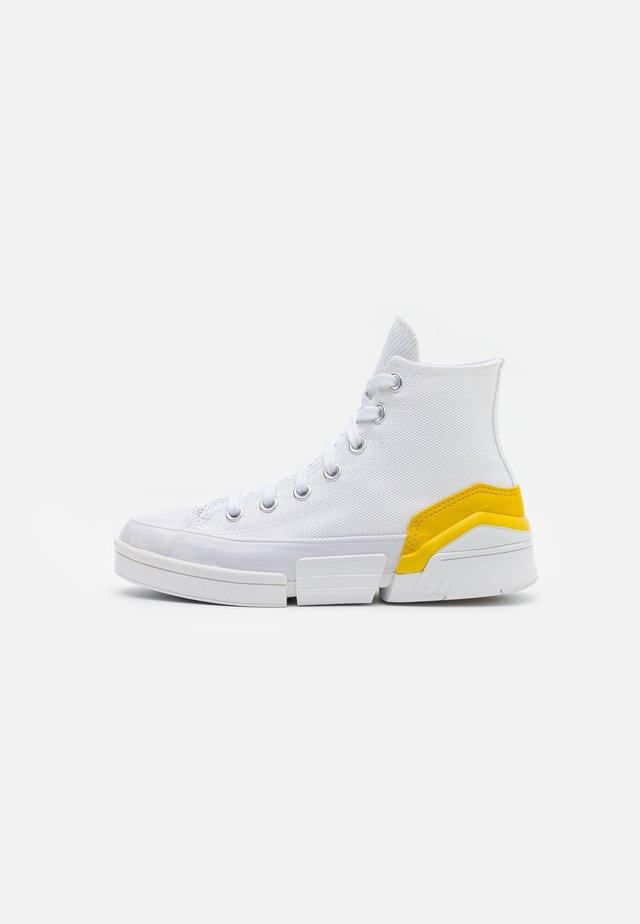 CPX70 - Høye joggesko - white/speed yellow/black