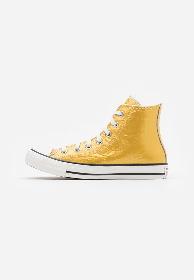 CHUCK TAYLOR ALL STAR - Sneakers high - gold/egret/black