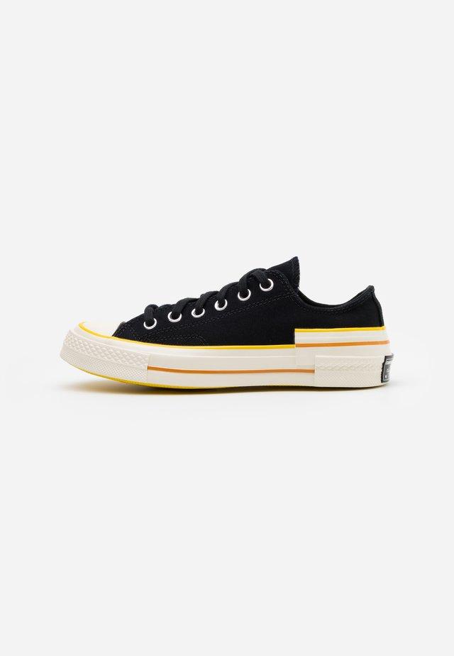 CHUCK 70 HACKED HEEL - Joggesko - black/speed yellow/egret