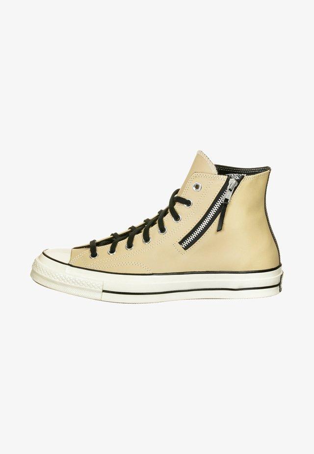 CHUCK SIDE ZIP - Sneakers hoog - desert ore/black