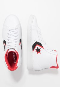 Converse - PRO - Sneakers alte - white/black/university red - 1