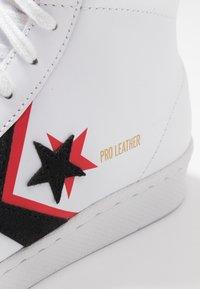 Converse - PRO - Sneakers alte - white/black/university red - 5