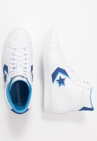Converse - PRO - Sneakers alte - white/rush blue/amarillo - 1