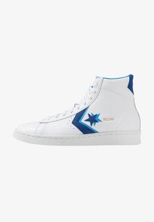 PRO - Sneakers alte - white/rush blue/amarillo