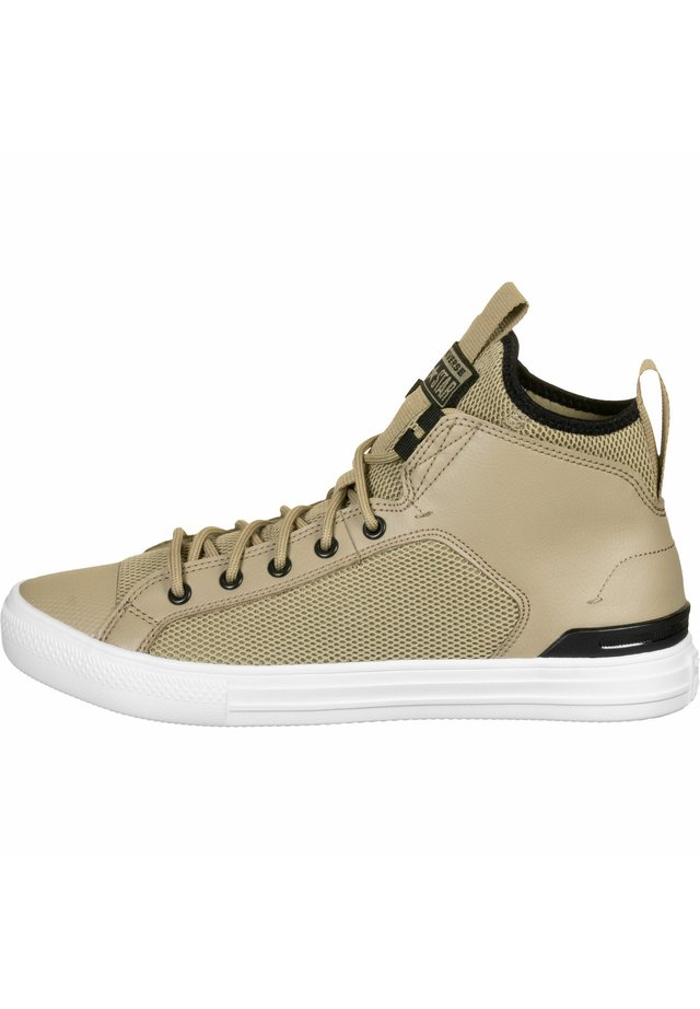 Chaussures de basket - khaki/black/white