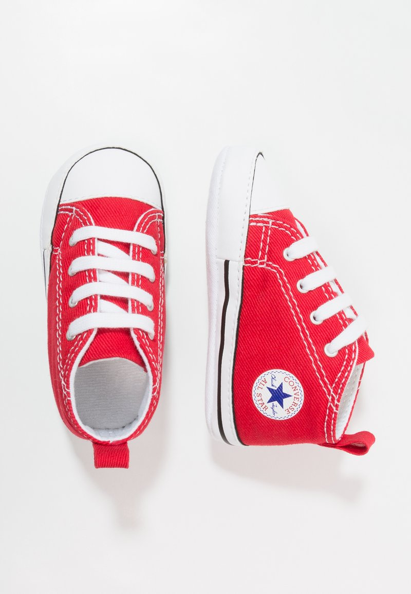Converse - CHUCK TAYLOR FIRST STAR - First shoes - red