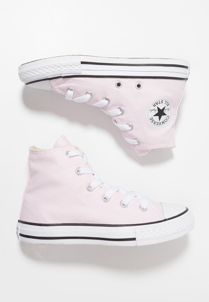 Converse - CHUCK TAYLOR ALL STAR - Sneakersy wysokie - pink foam/natural ivory/white