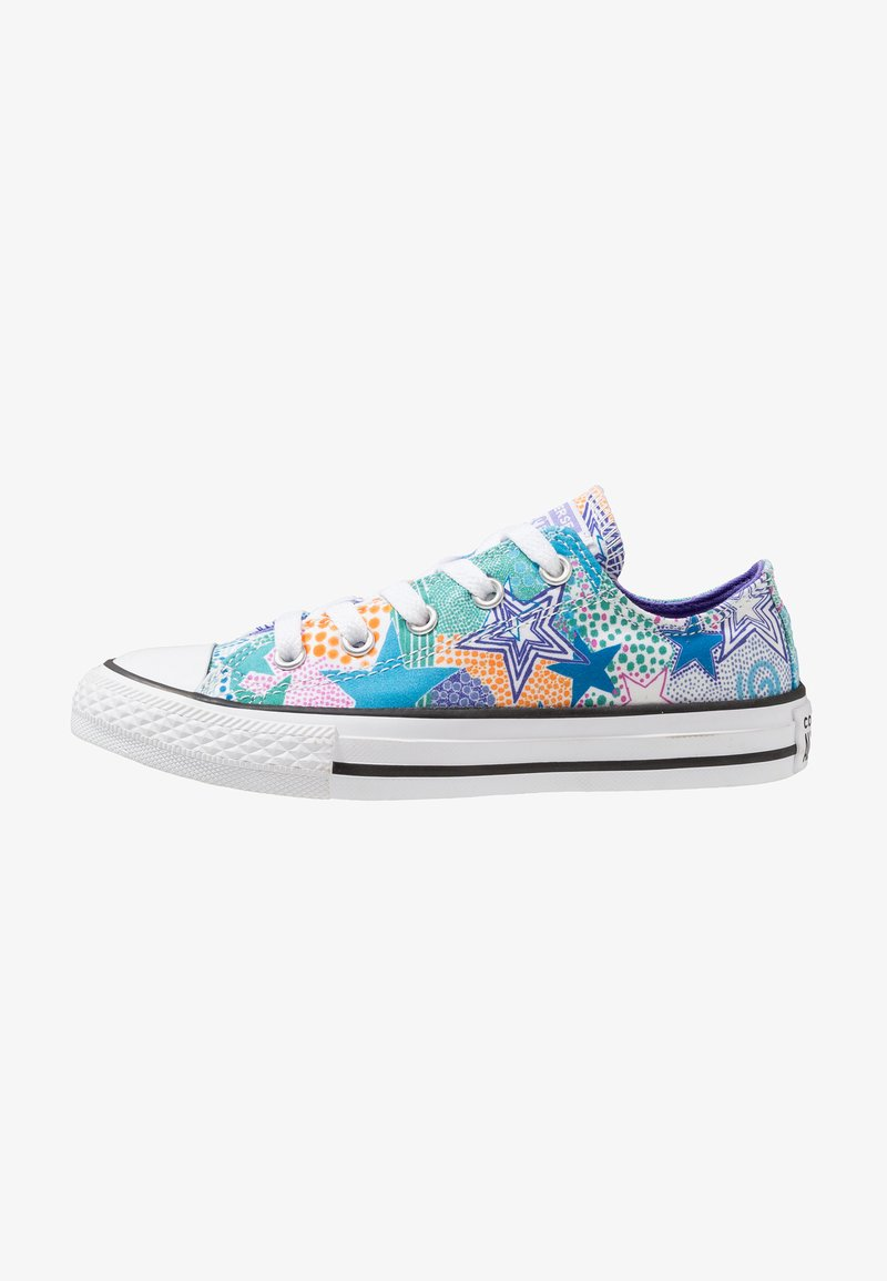 Converse - CHUCK TAYLOR ALL STAR - Sneakers - white/wild lilac/black