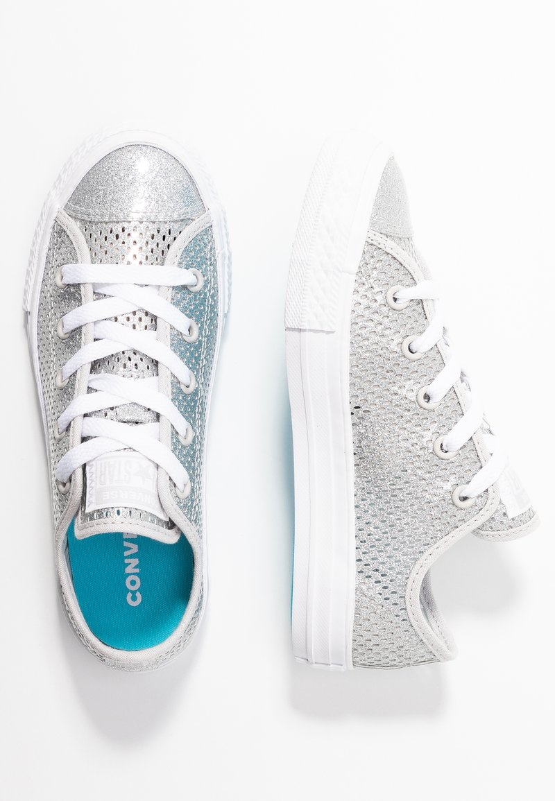 Converse - CHUCK TAYLOR ALL STAR - Sneaker low - silver/gnarly blue/white