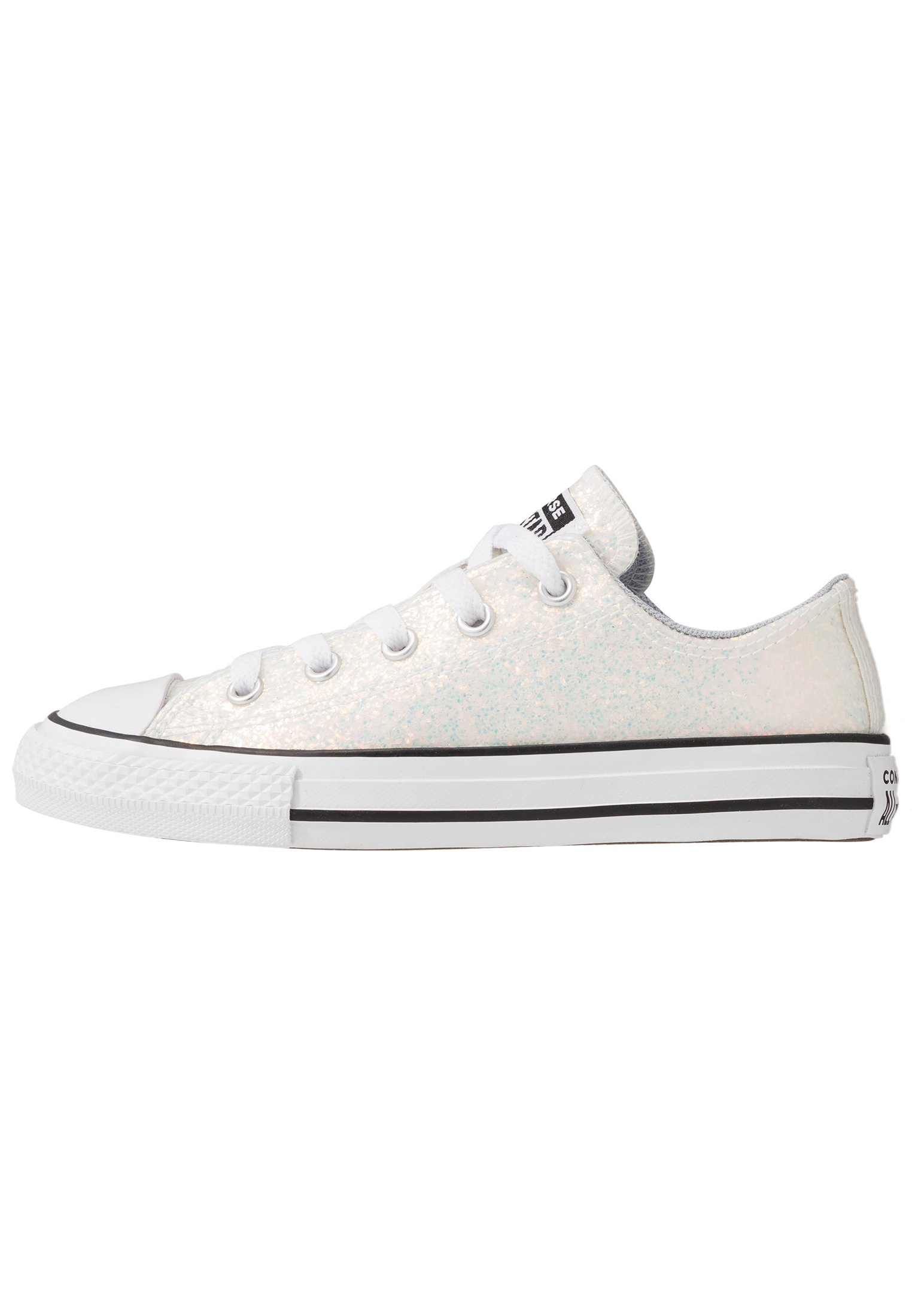 CHUCK TAYLOR ALL STAR COATED GLITTER Sneakers laag wolf greyblackwhite