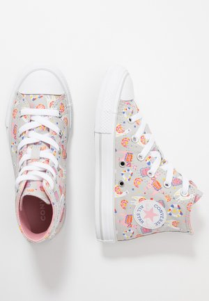 CHUCK TAYLOR ALL STAR LLAMA - Sneakers alte - mouse/coastal pink/white