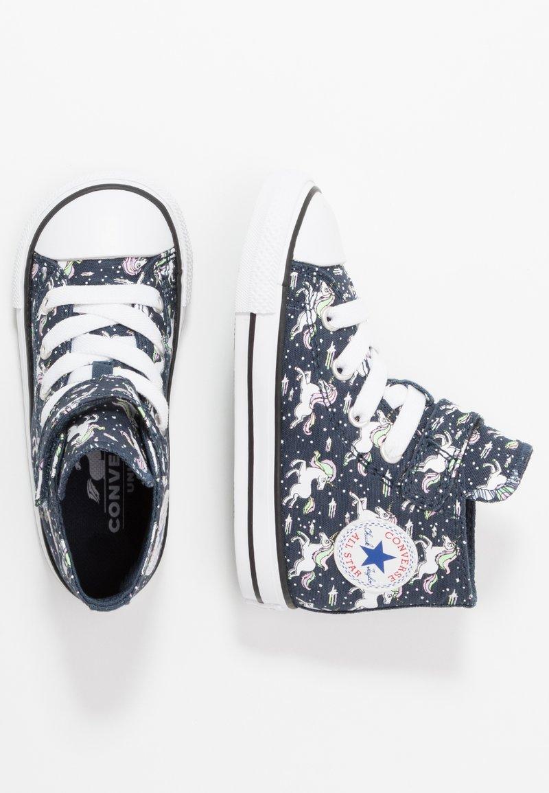 Converse - CHUCK TAYLOR ALL STAR UNICORNS  - Sneakers alte - navy/black/white