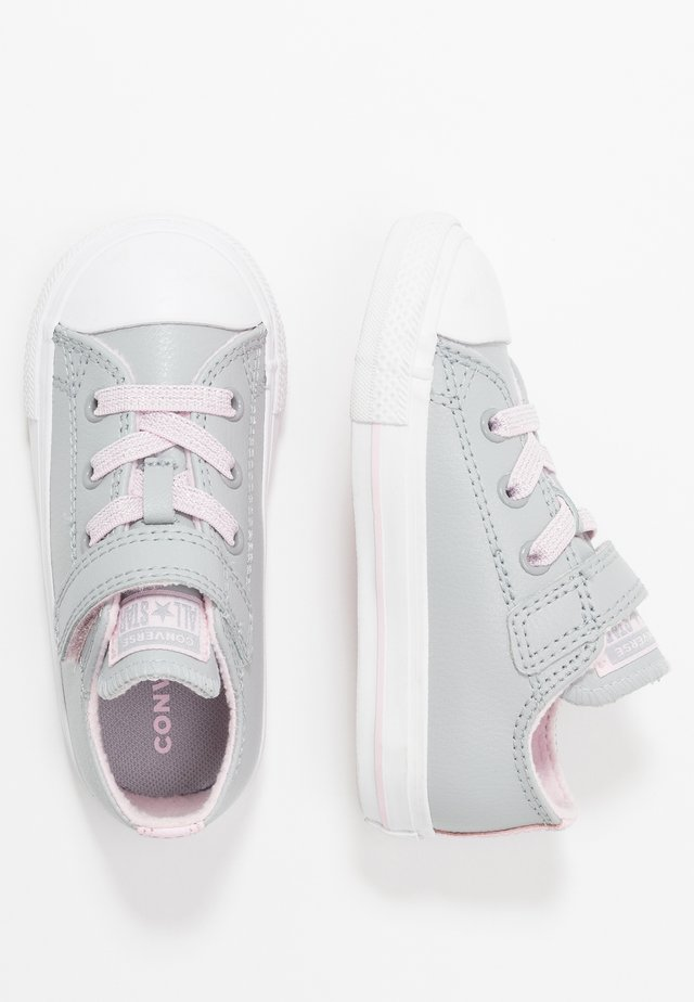 CHUCK TAYLOR ALL STAR SPARKLE LACE - Trainers - wolf grey/pink foam/white