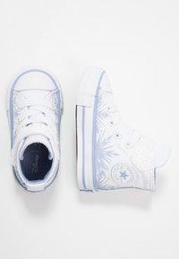 Converse - CHUCK TAYLOR ALL STAR FROZEN - Zapatillas altas - white/blue heron - 1