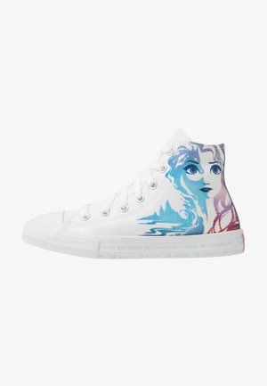CHUCK TAYLOR ALL STAR FROZEN - Korkeavartiset tennarit - white/multicolor
