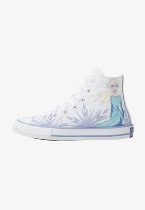 CHUCK TAYLOR ALL STAR FROZEN - Korkeavartiset tennarit - white/blue heron