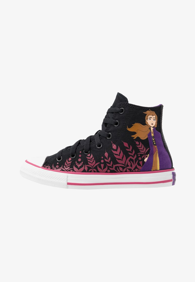 Converse - CHUCK TAYLOR ALL STAR FROZEN - Sneaker high - black/cherries jubilee/white
