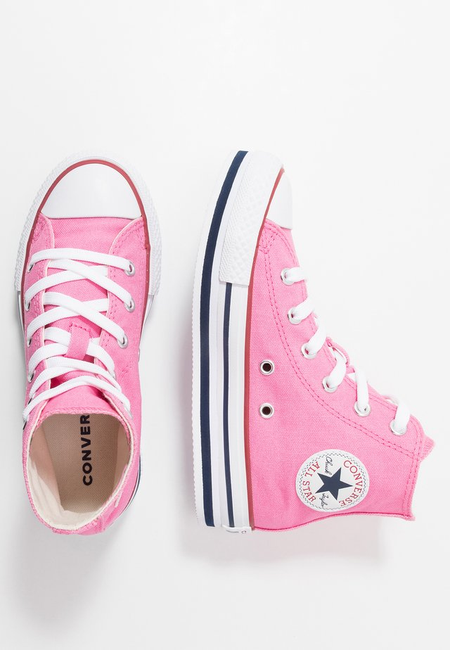 CHUCK TAYLOR ALL STAR PLATFORM - Zapatillas altas - pink/midnight navy/garnet
