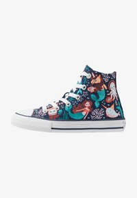 Converse - CHUCK TAYLOR ALL STAR MERMAID - Sneakersy wysokie - navy/rapid teal/white - 1