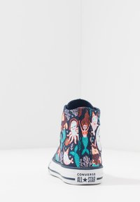 Converse - CHUCK TAYLOR ALL STAR MERMAID - Sneakersy wysokie - navy/rapid teal/white - 4