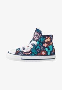 Converse - CHUCK TAYLOR ALL STAR MERMAID - Zapatillas altas - navy/rapid teal/white - 1