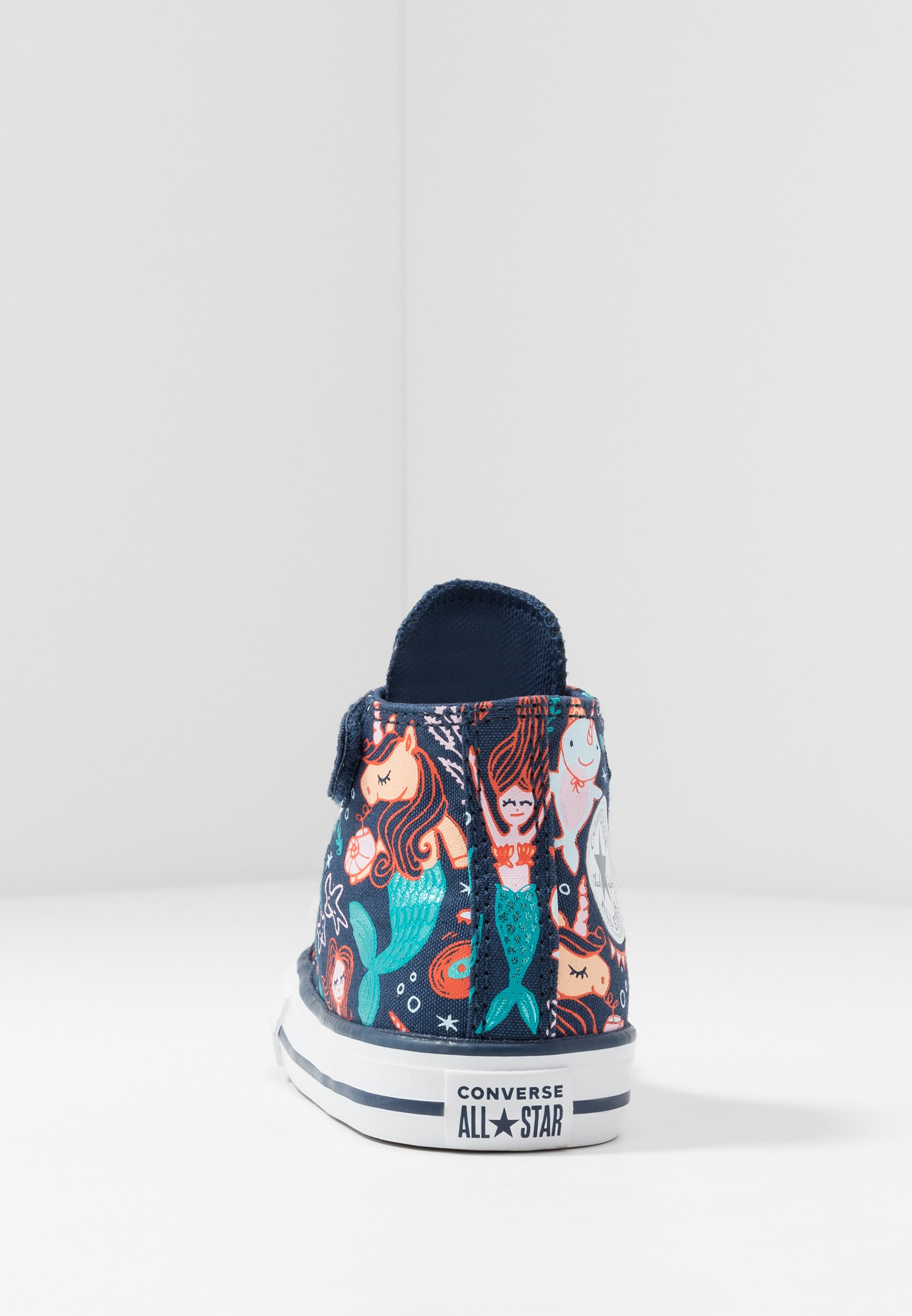 Converse CHUCK TAYLOR ALL STAR MERMAID - Sneakers high - navy/rapid teal/white