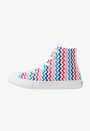 CHUCK TAYLOR ALL STAR - Baskets montantes - white/university red/rush blue