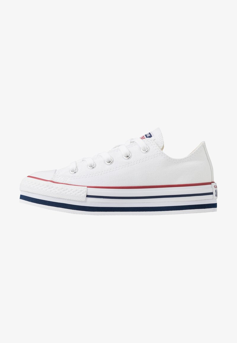 Converse - CHUCK TAYLOR ALL STAR PLATFORM  - Zapatillas - white/midnght navy/garnet