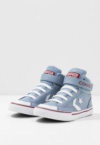 Converse - PRO BLAZE STRAP VARSITY - Zapatillas altas - blue slate/team red/white - 3