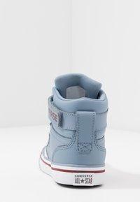 Converse - PRO BLAZE STRAP VARSITY - Zapatillas altas - blue slate/team red/white - 4