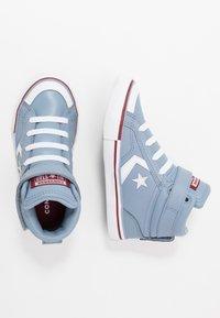Converse - PRO BLAZE STRAP VARSITY - Zapatillas altas - blue slate/team red/white - 0