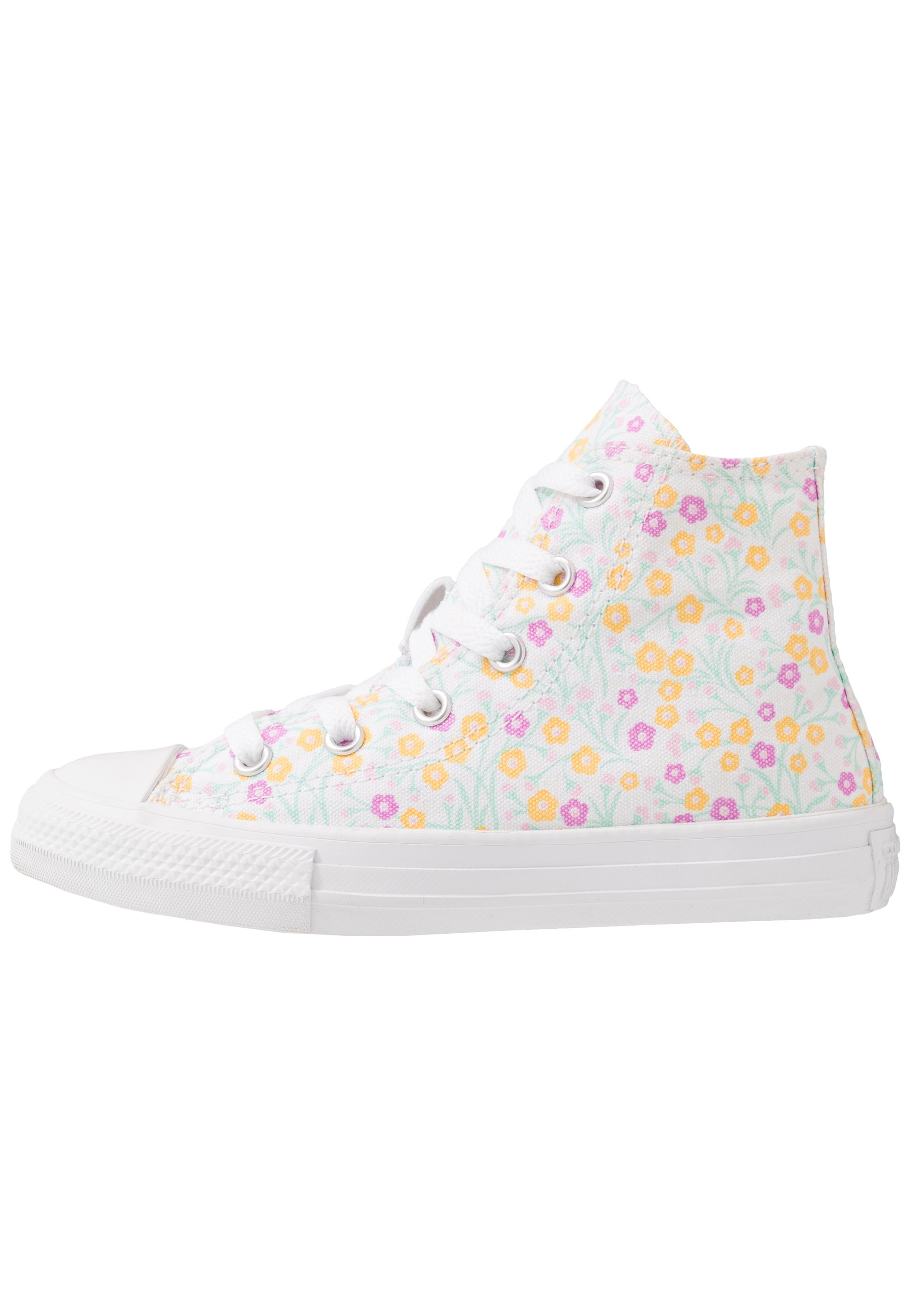 CHUCK TAYLOR ALL STAR FLORAL Sneakers alte whitetopaz goldpeony pink