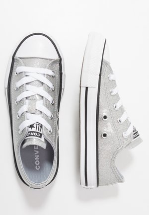 CHUCK TAYLOR ALL STAR COATED GLITTER  - Sneakersy niskie - wolf grey/black/white
