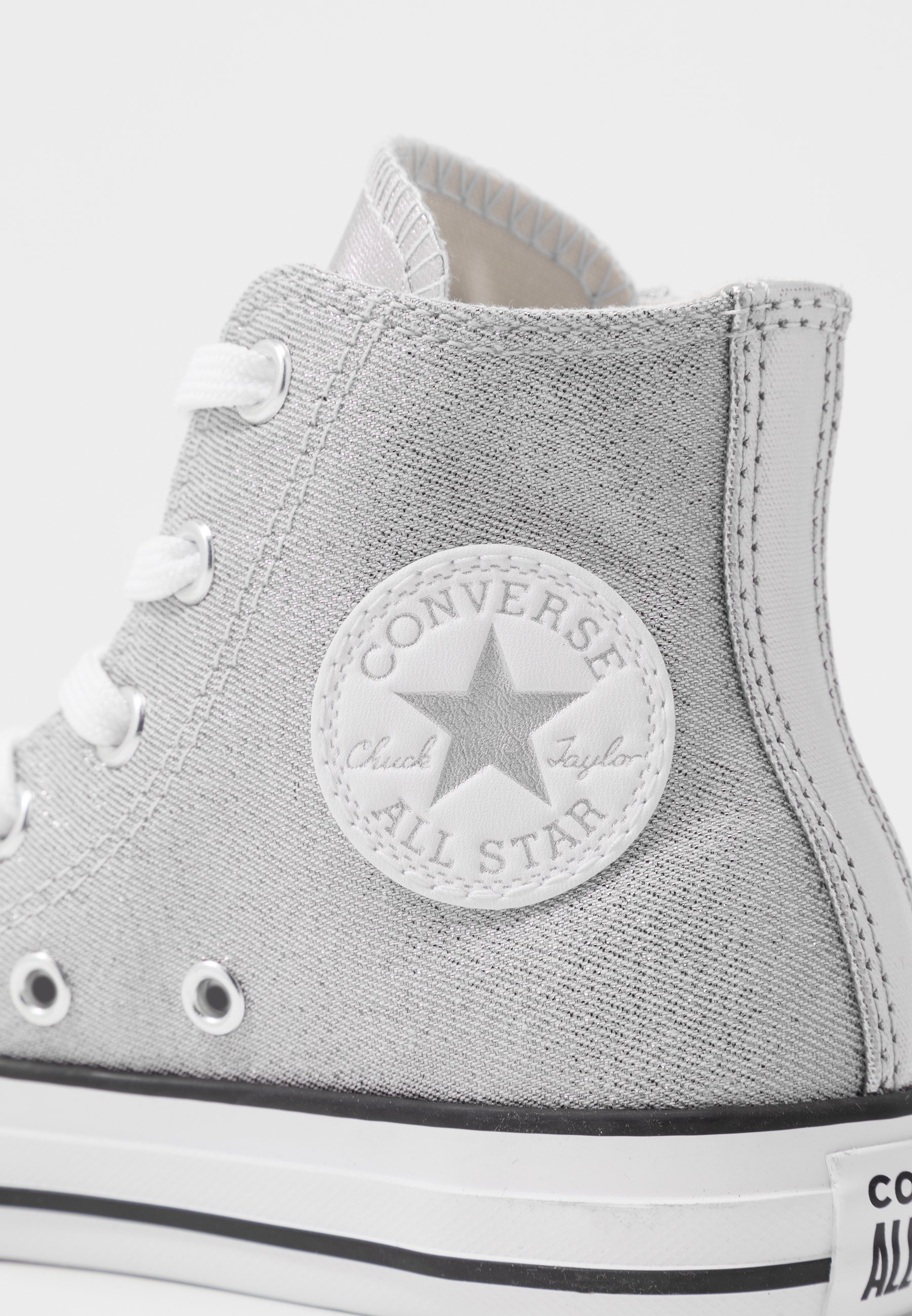 CHUCK TAYLOR ALL STAR SIDE ZIP Sneakers hoog silverwhitemouse