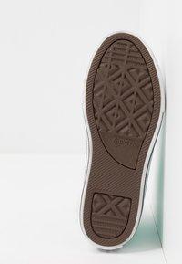Converse - CHUCK TAYLOR ALL STAR COATED GLITTER  - Zapatillas altas - rapid teal/black/white - 5
