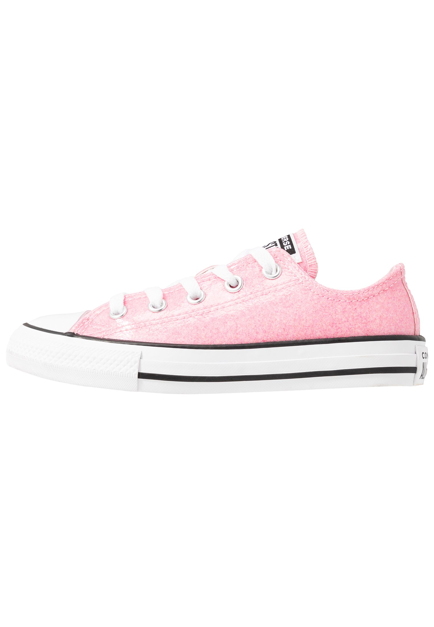 CHUCK TAYLOR ALL STAR COATED GLITTER Trainers cherry blossomblackwhite