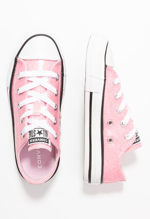 CHUCK TAYLOR ALL STAR COATED GLITTER  - Joggesko - cherry blossom/black/white