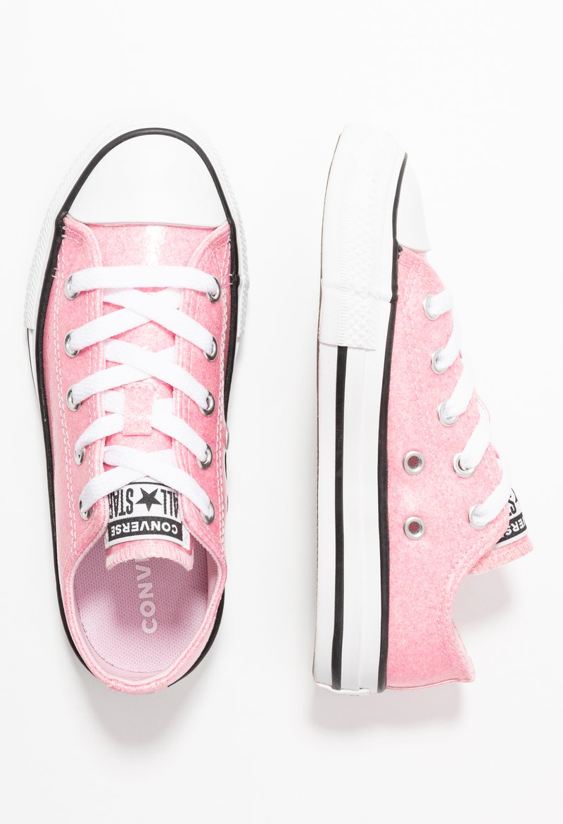 Converse - CHUCK TAYLOR ALL STAR COATED GLITTER  - Sneakers laag - cherry blossom/black/white