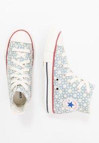 Converse - CHUCK TAYLOR ALL STAR LITTLE MISS - Vysoké tenisky - washed denim/garnet/midnight navy - 0