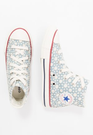 CHUCK TAYLOR ALL STAR LITTLE MISS - High-top trainers - washed denim/garnet/midnight navy