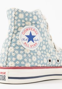 Converse - CHUCK TAYLOR ALL STAR LITTLE MISS - Vysoké tenisky - washed denim/garnet/midnight navy - 2