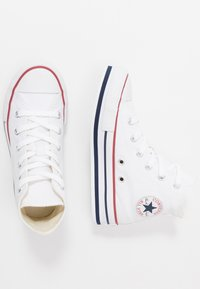 Converse - CHUCK TAYLOR ALL STAR PLATFORM EVA - High-top trainers - white/midnght navy/garnet - 0