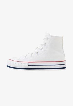 CHUCK TAYLOR ALL STAR PLATFORM EVA - Sneakers alte - white/midnght navy/garnet