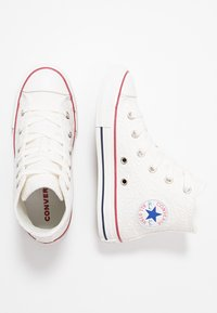 Converse - CHUCK TAYLOR ALL STAR LITTLE MISS CHUCK - Sneakers hoog - white/garnet/midnight navy - 0