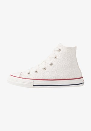 CHUCK TAYLOR ALL STAR LITTLE MISS CHUCK - Sneakers hoog - white/garnet/midnight navy